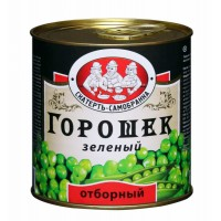 """Зеленый горошек """"С-С"""" отборный ж/б 425мл 1/12"""