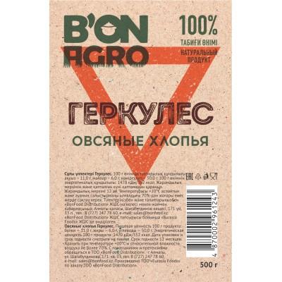 """Овсяные хлопья Геркулес """"BonAgro"""" 500 г 1\20"""