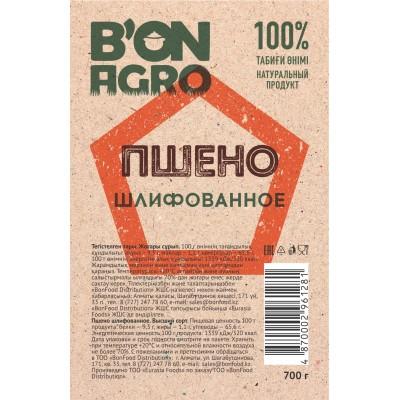 "Пшено шлифованное ""BonAgro"" 700 г 1\20"