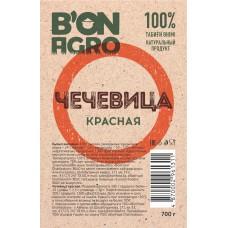 """Чечевица красная """"BonAgro"""" 700 г 1\20"""