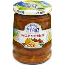 """ФАСОЛЬ с овощами """"МЕЛЕНЬ"""", 550г, 1/6"""